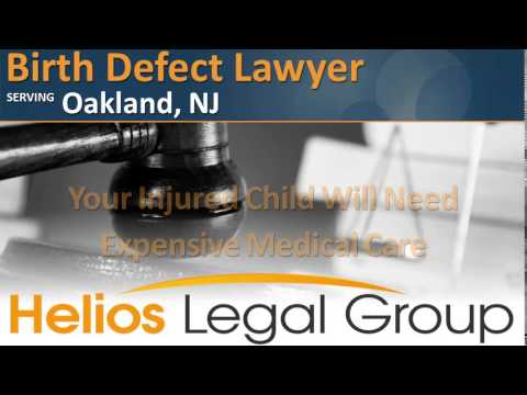 Oakland Birth Defect Lawyer & Attorney - New Jersey