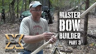 Master Bow Builder Series Part 3 Building a String, Silencer, Serving, and Nock