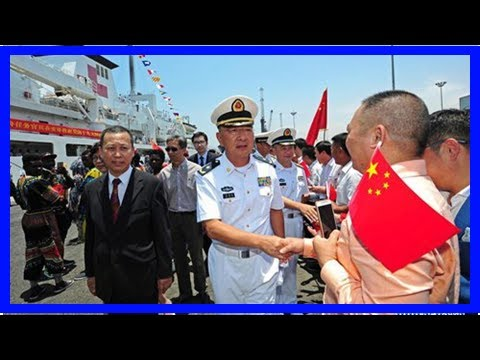 Chinese naval hospital ship peace ark arrives in angola, provides free medical services - people's
