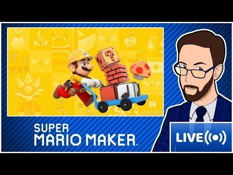 [LIVE] Super Mario Maker #126 | Viewers Levels! [EN/FR]