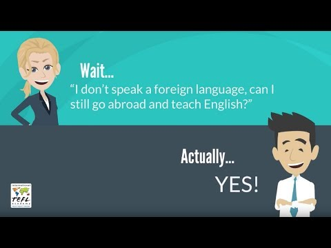 Teaching Abroad - Do I Need to Know the Local Language?
