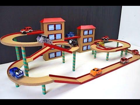 Games for Kids made of Cardboard Desktop games Magic track