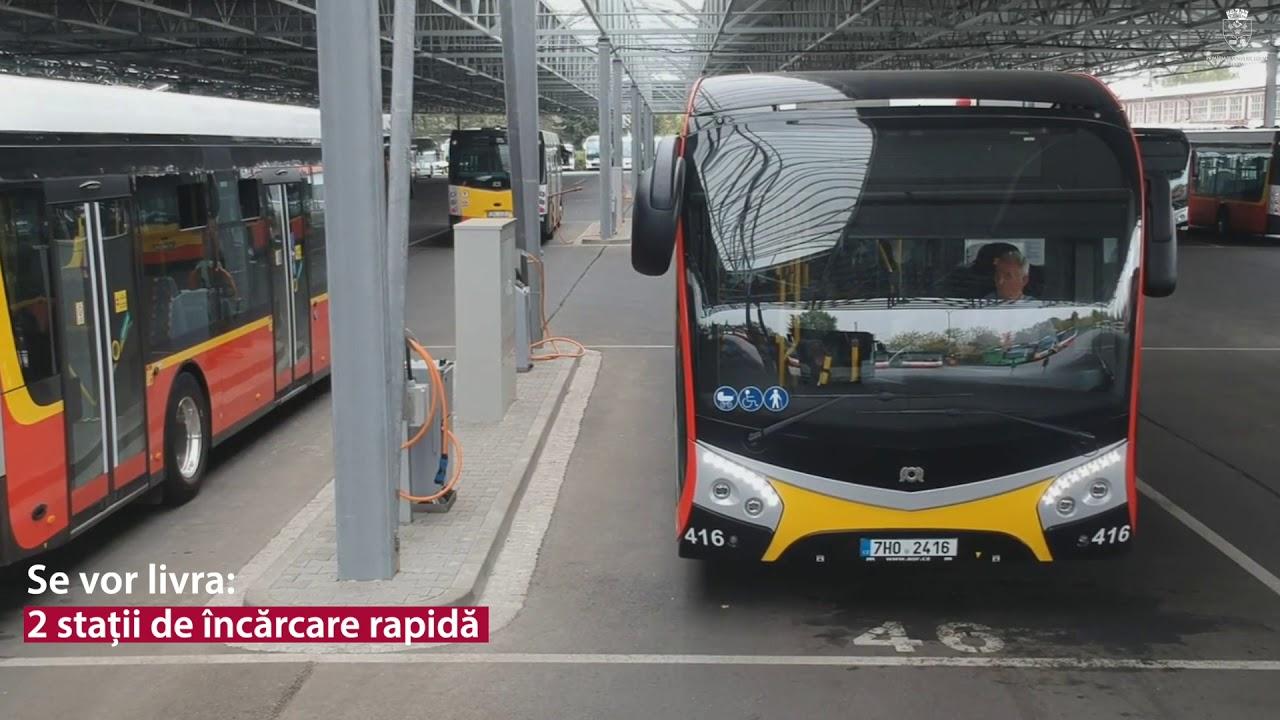 A fost semnat acordul-cadru de achiziție al autobuzelor electrice, la Turda! (26.11.2018)