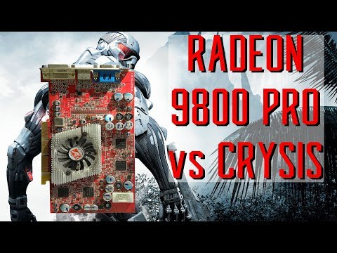 ATI Radeon 9800 Pro 15 years later, what can it play?!