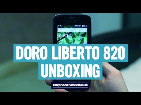 Doro Liberto 820 Unboxing