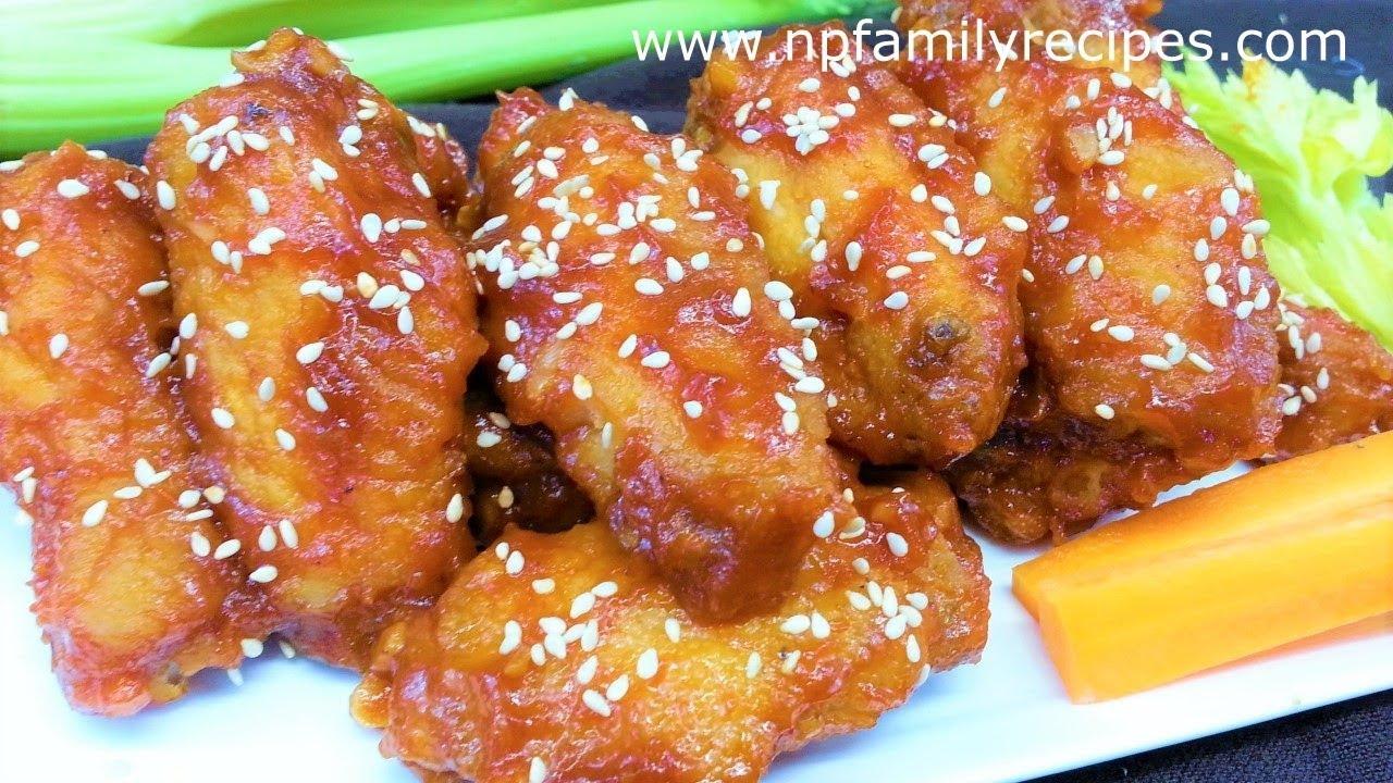 Công thức làm Cánh Gà Sốt Ketchup (Sốt Cà Chua) – NPFamily Recipes Tiếng Việt