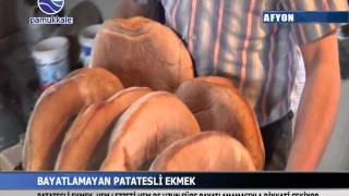 MEŞHUR PATATESLİ #AFYON EKMEĞİ. www.pamukkaletv.com