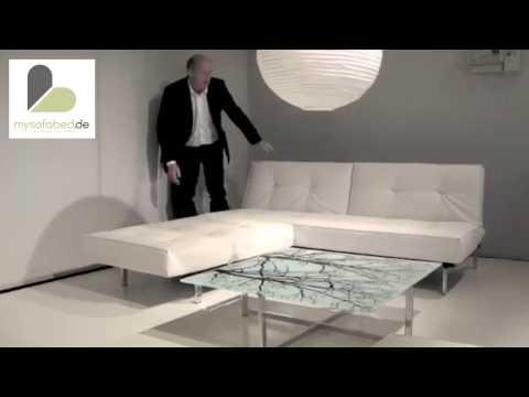 splitback-von-innovation-schlafsofa-&-sessel-kunstleder-weiß---mysofabed.de