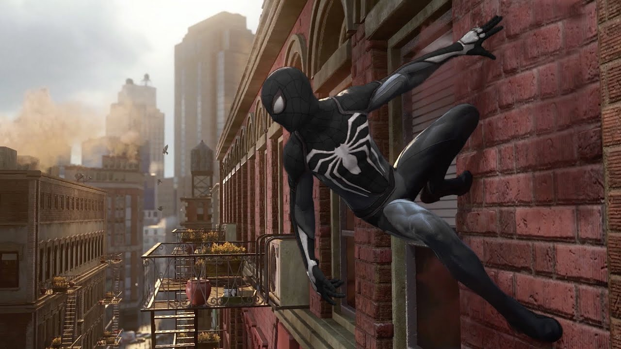 SPIDERMAN PS4 VENOM AND BLACK SUIT LEAKED!!!! - YouTube