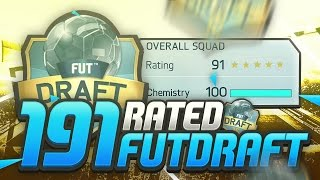 191 RATED FUT DRAFT CHALLENGE!! FIFA 16