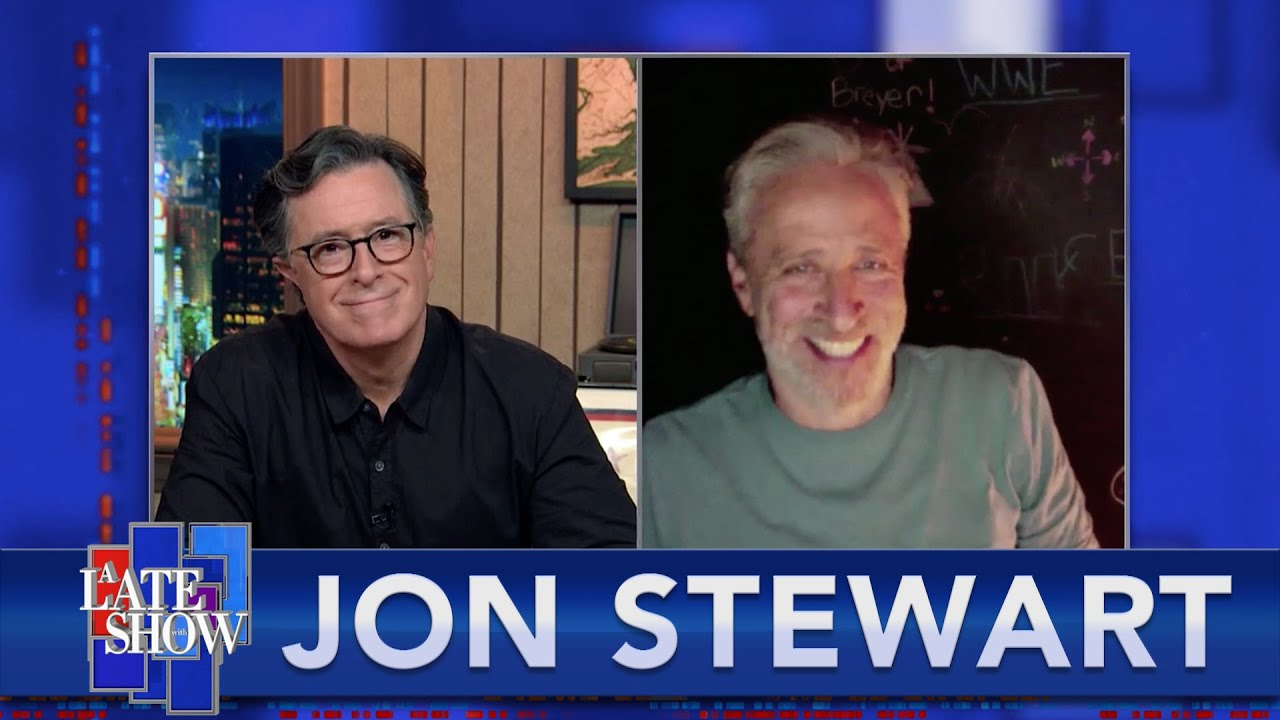 Jon Stewart And Stephen Reunite On The 10th Anniversary Of Their Rally To Restore Sanity And/Or Fear