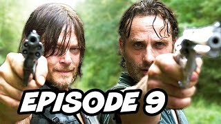 Walking Dead Season 7 Episode 9 March To War TOP 10 WTF and Easter Eggs