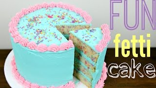 Funfetti Birthday Cake Decorating - CAKE STYLE