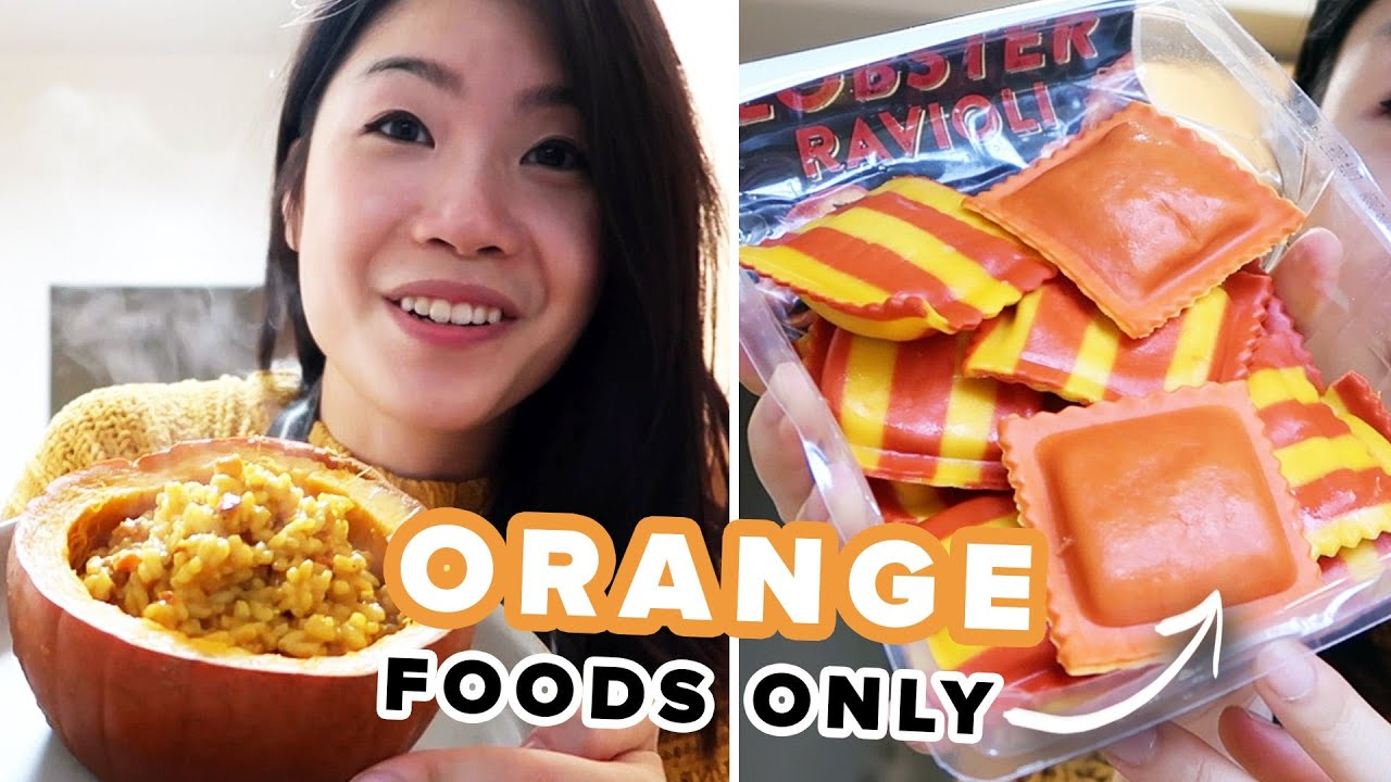 Download I Only Ate Orange Foods For 24 Hours