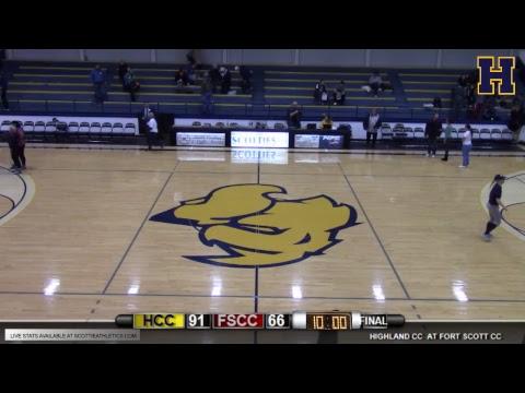Highland Men's Basketball vs. Fort Scott CC