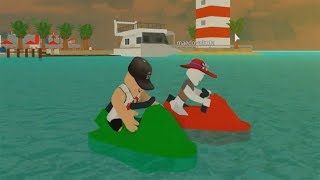 ROBLOX: JET SKIS RACE ON THE BEACH WITH MY MOTHER! (Live In Einem Fünf-Sterne-Resort)