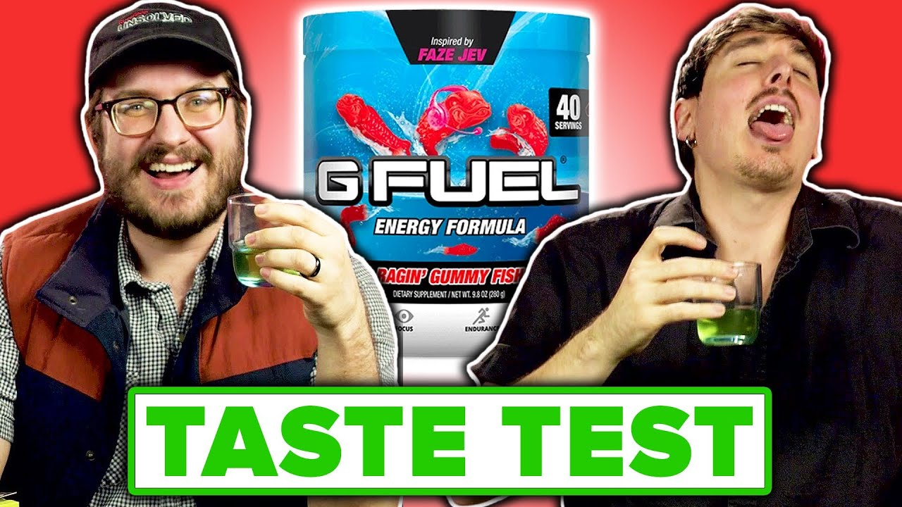 Download Gamers Try Gamer Energy DrinksFor The First Time