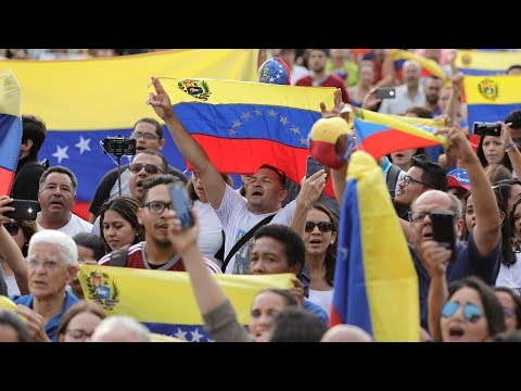 Mass protests in Venezuela as Maduro flexes political muscle