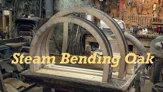 Steam Bending Heavy Wagon Felloes