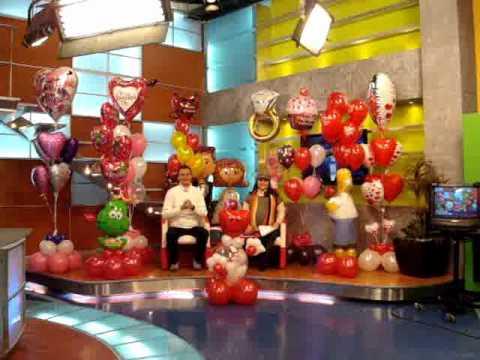 Globos rie las noticias san valentin 3 youtube - Decoraciones para san valentin ...