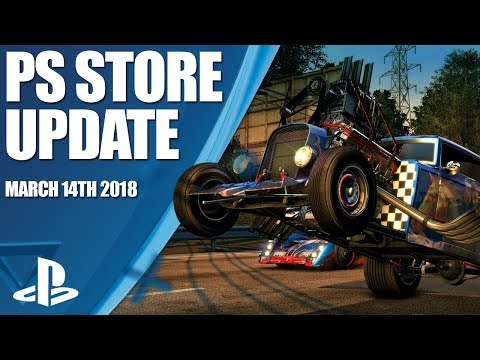 PlayStation Store Highlights - 14th March 2018