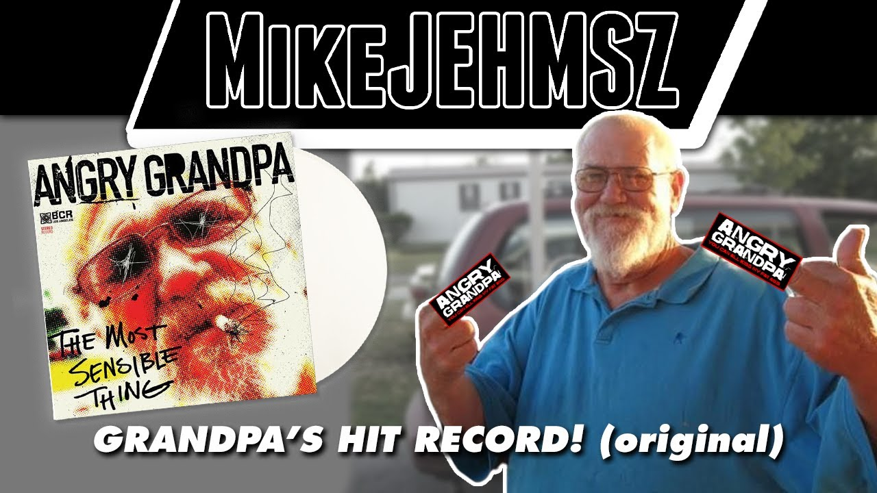 Angry Grandpa The Most Sensible Thing Vinyl Record Review