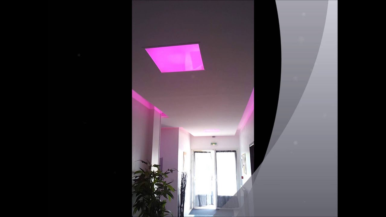 faux plafond led youtube. Black Bedroom Furniture Sets. Home Design Ideas