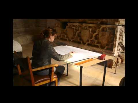 DRAWING THE TOMB OF D.FERNANDO I King of Portugal