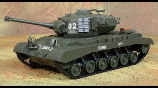 Heng Long 1/30 U. S. Medium Tank M26...Розпакування та перший погляд