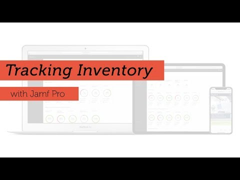 Tracking Inventory with Jamf Pro