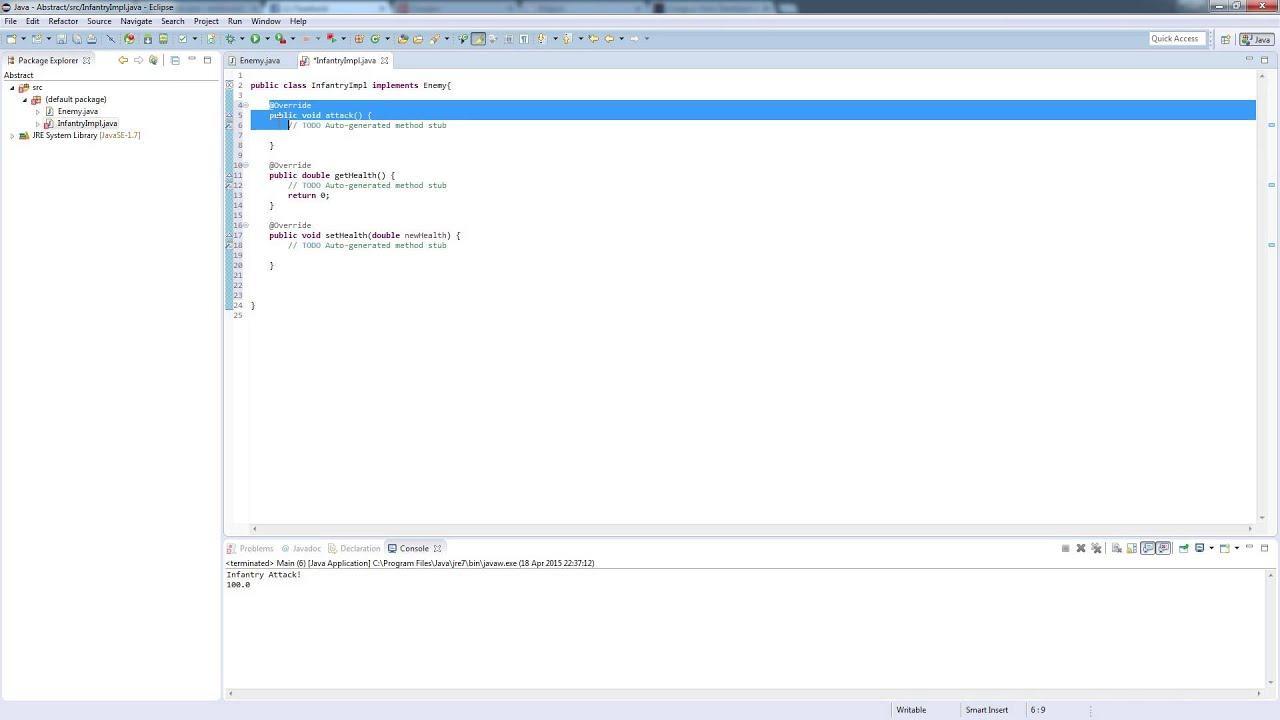 Java interfaces for beginners programming design pattern java interfaces for beginners programming design pattern tutorial baditri Images