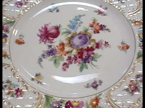 Dresden Flowers Schumann | Fine German China Series