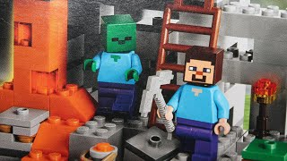 LEGO Minecraft - The Cave 21113 : Hands-on Overview