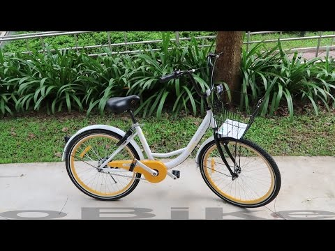 oBike & oFo Singapore's First Bike Sharing Systems