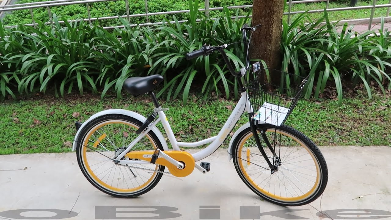 oBike & oFo Singapore's First Bike Sharing Systems - YouTube