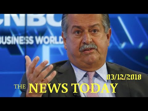 DowDuPont Says Andrew Liveris To Step Down, Names CEO For New Dow | News Today | 03/12/2018 | D...