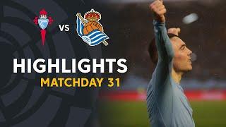Highlights RC Celta vs Real Sociedad (3-1)