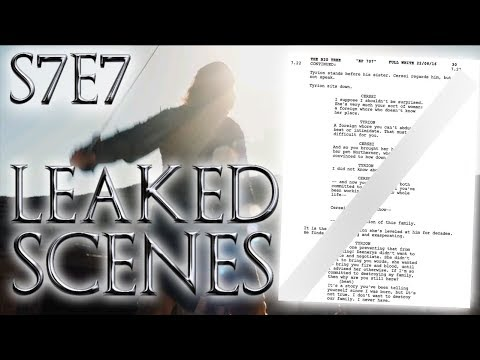 Season 7 Episode 7 Leaked Scenes ! | Game of Thrones Season 7 Episode 7