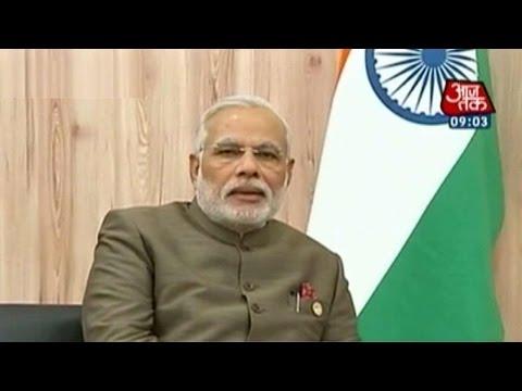 Narendra Modi meets Russian PM Vladimir Putin