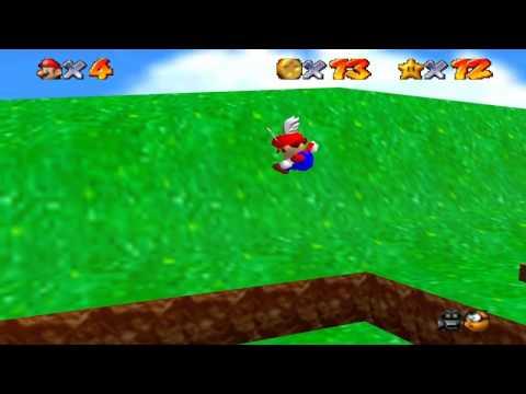 Super Mario 64 Walkthrough - Course 1 - Bomb Omb Battlefield