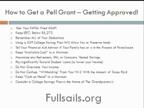 How to Get Approved for The Pell Grant