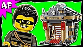 Lego City MUSEUM BREAK-IN 60008 Stop Motion Build Review