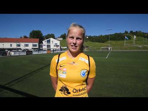 Orkanger Ingrid Stuen etter Nardo 9.6.2018