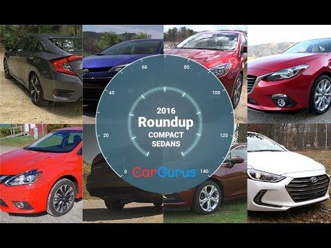 Best Compact Sedans 2016 | CarGurus Compact Sedan Roundup