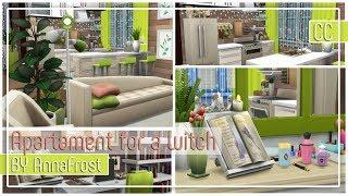 The Sims 4: Строительство | Квартира для ведьмы
