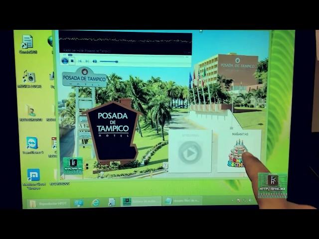 Programa cliente de audio Restaurante Laguna del Chairel