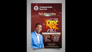 GHANA HOLY GHOST RALLY || LET THE FIRE FALL