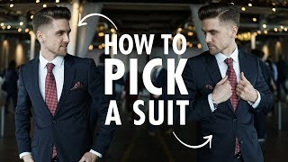 How to pick a suit - Men's formal and business casual suits for spring