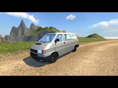 BeamNG mod : Volkswagen Transporter T4