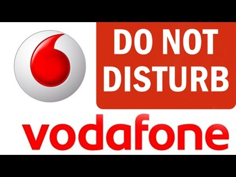 How To Activate DO NOT DISTURB Service online on your VODAFONE